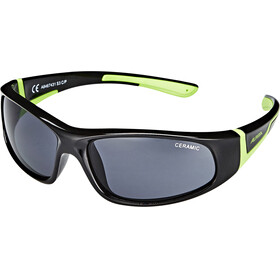 Alpina Flexxy Glasses Junior black-green